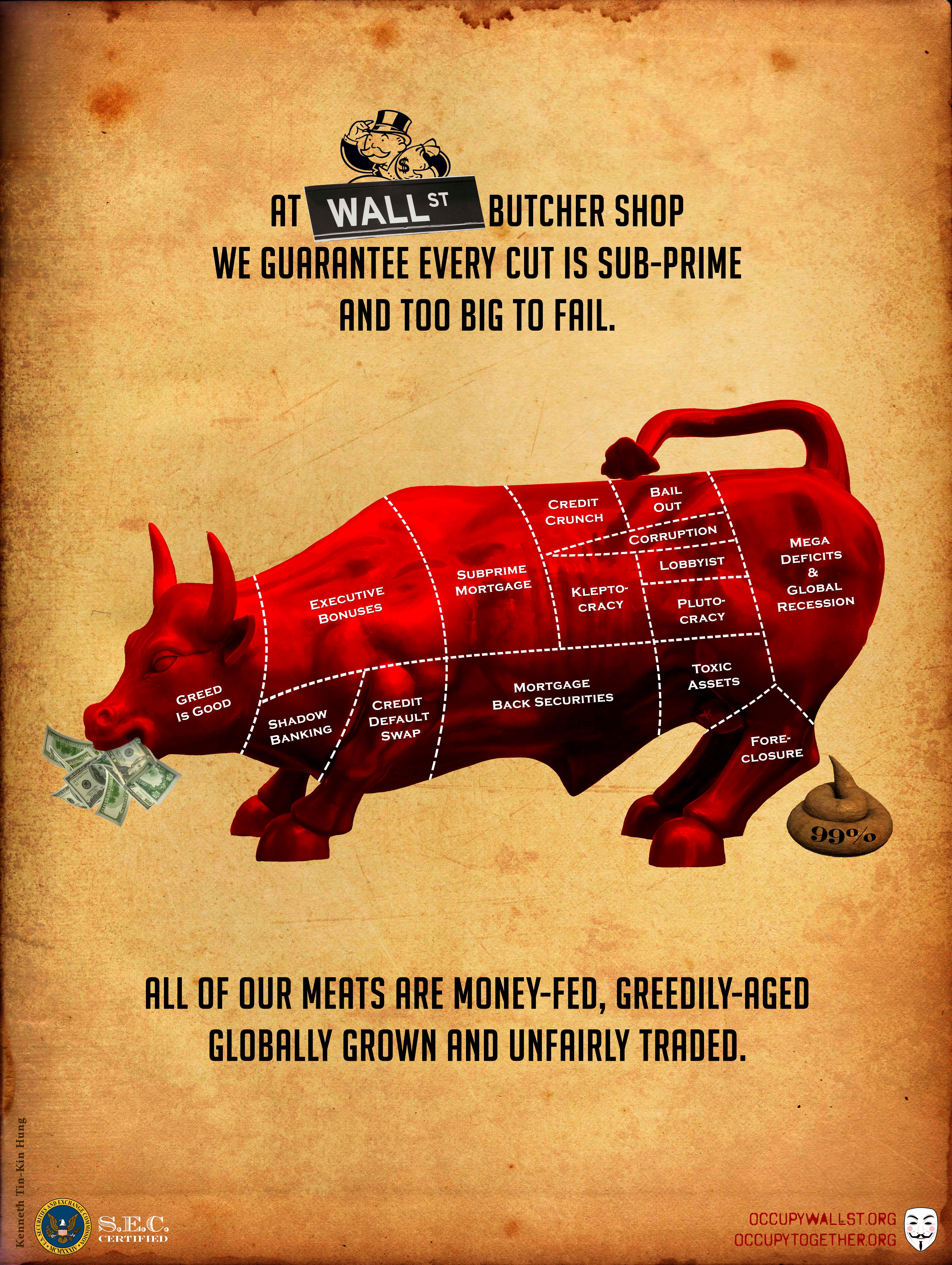 Occupy Wall Street Posters » KENNETH TIN-KIN HUNG » Kenneth Tin-Kin Hung